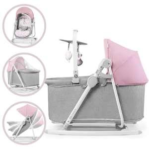 Kinderkraft Unimo 5in1 Pihenőszék - Nyuszi #rózsaszín-szürke 2020