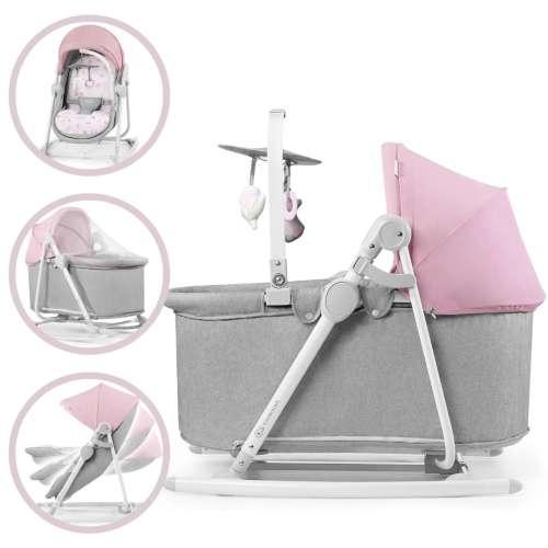 Kinderkraft Unimo 5in1 Pihenőszék - Nyuszi #rózsaszín-szürke 2020 31486894