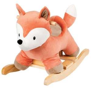 Nattou Hintázó állatka - Róka #narancssárga 31375771 Hintaló, hintázó állatka