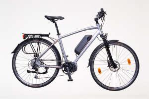 """Neuzer Menton férfi Elektromos Kerékpár 20"""" #ezüst-piros-szürke 31377250 Elektromos kerékpár"""
