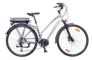 """Neuzer Menton női Elektromos Kerékpár 18"""" #ezüst-cián 31377258 Elektromos kerékpár"""