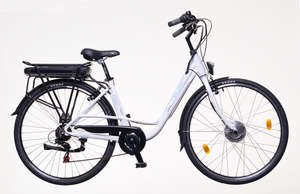 "Neuzer E-City Zagon MXUS női Elektromos Kerékpár 18"" 31377341 Elektromos kerékpár"
