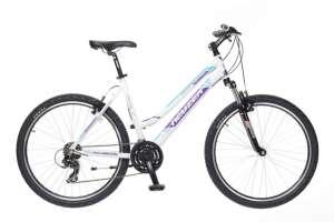 """Neuzer Mistral 50 női MTB hobby Kerékpár 17"""" #fehér-lila"""