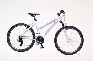 """Neuzer Mistral 50 női MTB hobby Kerékpár 15"""" #fehér-rózsaszín 31378295 Női kerékpár"""