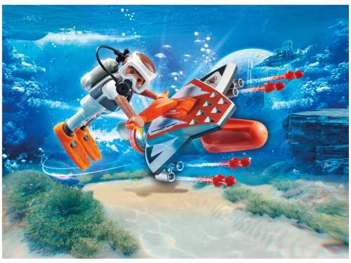 Playmobil SPY TEAM Víz alatti szárnyai 70004 31377983 Playmobil Special Plus