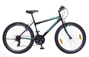 """Neuzer Nelson 30 MTB férfi Kerékpár 17"""" #fekete-türkiz 31378350 Férfi kerékpár"""