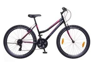 """Neuzer Nelson 30 MTB női Kerékpár 17"""" #fekete-rózsaszín"""