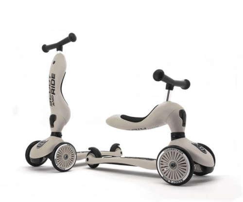 Scoot and Ride Highwaykick 2in1 Roller #fehér