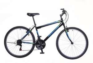 """Neuzer Nelson 18 MTB hobby férfi Kerékpár 21"""" #fekete-kék 31379042 Férfi kerékpár"""