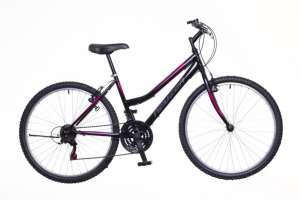 """Neuzer Nelson 18 MTB hobby női Kerékpár 19"""" #fekete-rózsaszín 31379089 Női kerékpár"""