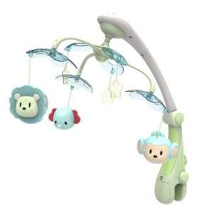Baby Mix Projektoros Zenélő forgó - Szafari #zöld (4919)