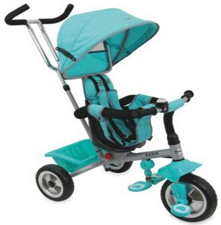 Baby Mix Rapid prémium Tricikli #menta