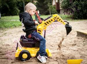 Edi Rider Kotrógép #sárga