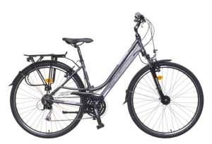 """Neuzer Ravenna 300 női matt Trekking Kerékpár 19"""" #antracit 31380046 Női kerékpár"""