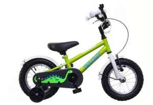 """Neuzer BMX Gyermek Kerékpár 12"""" #zöld/fehér-kék"""
