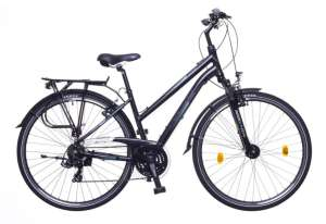 "Neuzer Firenze 100 női matt Trekking Kerékpár 15"" #fekete-szürke-türkiz 31380226"