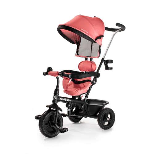 Baby Tiger Fly 360°-ban forgatható Tricikli #rózsaszín
