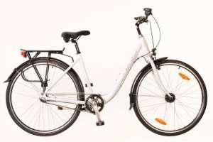 """Neuzer Padova 28 N7 női Városi Kerékpár 17"""" #fehér-pink 31380507"""