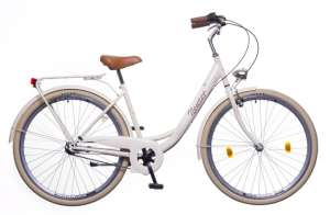 """Neuzer Balaton Premium 28 N3 női Városi Kerékpár 28"""" #krém-barna 31380542 Női kerékpár"""
