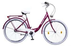 """Neuzer Balaton Premium 28 N3 női Városi Kerékpár 28"""" #padlizsán-fehér-barna 31380547 Női kerékpár"""