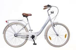 """Neuzer Balaton Premium 28 N3 női Városi Kerékpár 28"""" #szürke-narancssárga"""