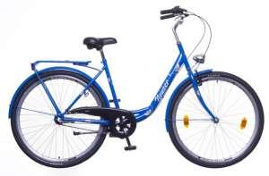 """Neuzer Balaton 28 N3 női Városi Kerékpár 28"""" #sötétkék-barna"""