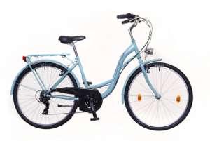 """Neuzer Venezia 30 női Városi Kerékpár 17"""" #celeste-piros"""
