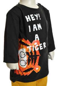 Bébi fiú Felső - Tigris #barna 31380956 Gyerek pulóver, kardigán