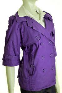 QS lila, rövid ujjú női kabát 31381035 Női kabát, dzseki