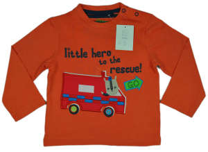 Ambulance Felső - Mentőautó #narancssárga 31381085 Gyerek pulóver, kardigán