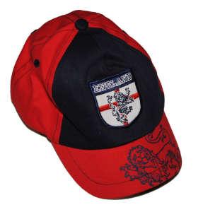 Baseball sapka ENGLAND, kék-piros 31381140 Gyerek baseball sapka, kalap