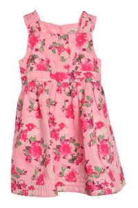 s. Oliver rózsaszín, virágmintás lány ruha 31381279 92