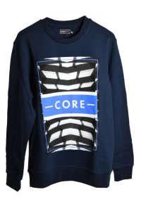 Jack&Jones sötétkék férfi pulóver – Core 31381500 Férfi pulóver