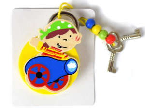 Kulcstartó - Fa lakat 31381564 Fa