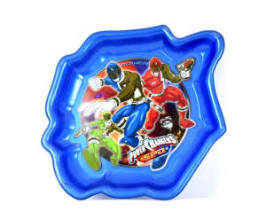 Tányér - Power Rangers 31381599 Gyerek tányér, evőeszköz, étkészlet
