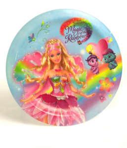 Tányér - Barbie 31381604 Gyerek tányér, evőeszköz, étkészlet