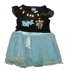 Brats Lány Fekete Felső és kék szoknya 104-122 31381619 Jelmez gyerekeknek