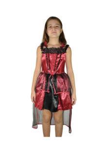 Lány Bordó Boszis Jelmez 31381643 Jelmez gyerekeknek
