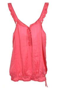 Tommy Hilfiger selyem női Top #rózsaszín 31382018 Rózsaszín