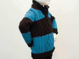 s. Oliver kék, kötött fiú pulóver 31382145 Gyerek pulóver, kardigán