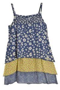 s. Oliver kék mintás lány ruha 31382355 110