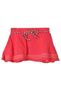 Boboli piros, textil öves lányka szoknya és bugyi – 62 31382945 Gyerek szoknya
