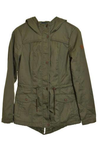Only sötétzöld női kabát – S