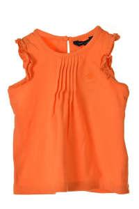 Tommy Hilfiger narancssárga, fodros lány top 31383358 74