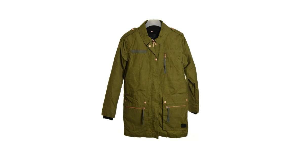 Minimumzöld női kabát   Pepita.hu
