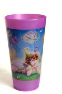 Disney műanyag Pohár 300ml - Tündéres #rózsaszín 31383812 Itatópohár, pohár