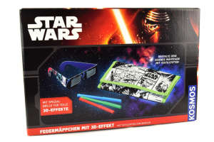 Kiszínezhető 3D Tolltartó - Star Wars #fekete-fehér 31384055 Tolltartó, órarend