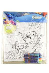 Szenilla nyomában kifestős puzzle és zsírkréta 31384086 Foglalkoztató füzet, kifestő-színező