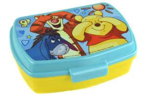 Szendvics doboz - Micimackó #sárga 31384154 Gyerek étel-és italtároló