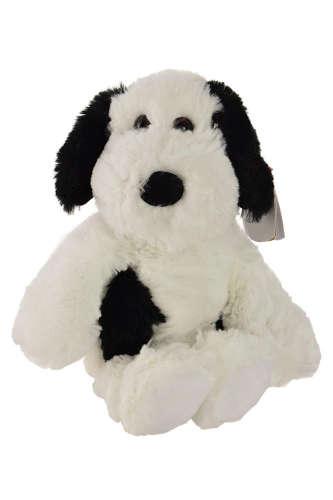 Ty Muggy fehér, fekete foltos, nagyon puha kutya plüss – 20 cm